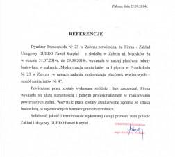 P23Refefencj
